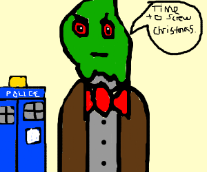 The Grinch and Cindy Lou Doctor Who