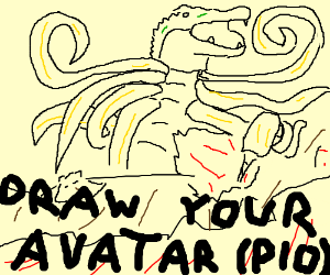 Draw your avatar (Pass it on)
