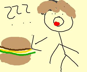 You call THIS a cheeseburger?!
