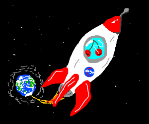 Cherries are launched in space
