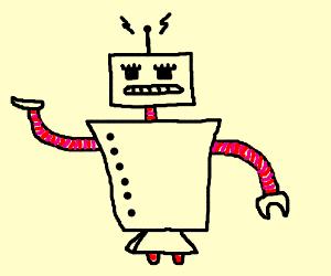 Mailman presents robo-vulpix