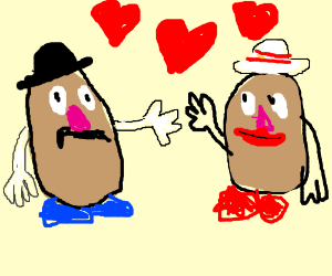 potatoes in love