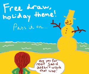 Free Draw Holiday Theme! P.I.O.