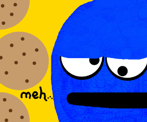 Cookie Monster may be getting tired of cookies