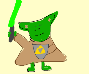 Hyrulian savior Yoda will be