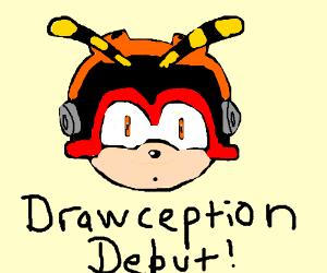 Sega charachter never seen on Drawception