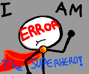 am error the superhero!