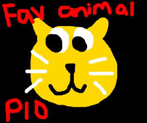Draw your favorite animal. Pass it on!!