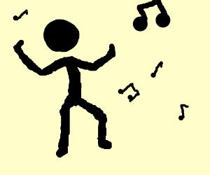 stickmen dancin