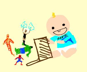 Marvel empties the toybox