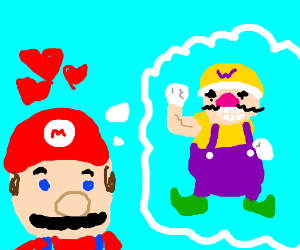 Mario's favorite color is purple