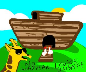Noahu0027s Ark Makes Long Neck Bad Boys Scared