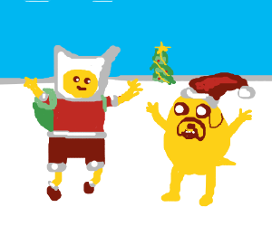 adventure time Christmas