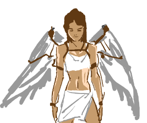Icarusess - militant daughter of  Daedalus