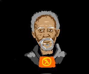 I'll make it simple: Draw Morgan Freeman.