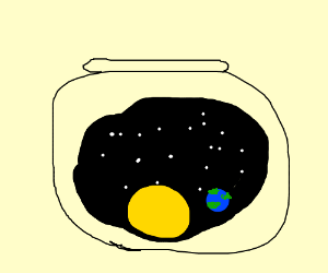 Universe In A Fishbowl
