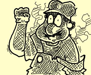 Mario vs the fireball