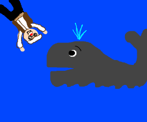 Gepetto plans on getting eaten by a whale.