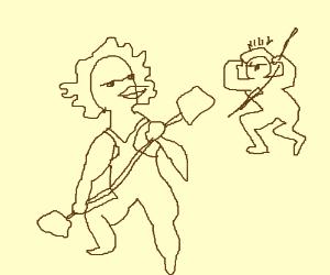 Gladiator duck vs Spearman