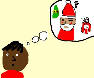 thinking of drunk santa demoman