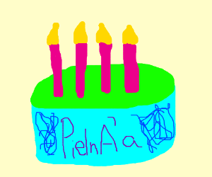 PieInA'a birthday