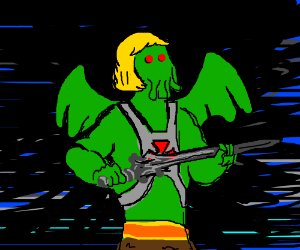 Cthulhu as He-Man
