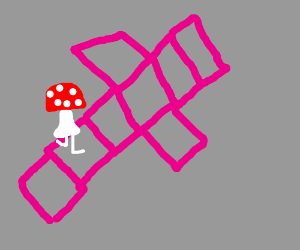 wittle dingy mushroom plays squarehopper