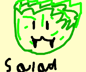SALAD HEAD.