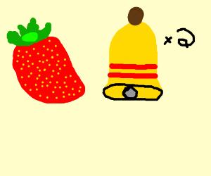 Strawberry bell bell