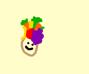 hats that look like fruit and vegetables