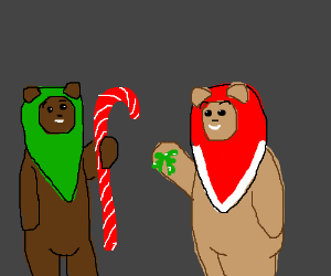 Ewoks' christmas