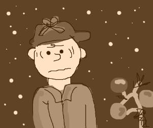 A brown Charlie Brown Christmas