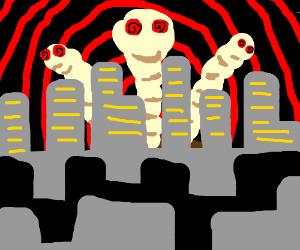 Giant Hypno-Maggots