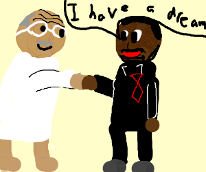 Martin Luther King Cartoon Drawing