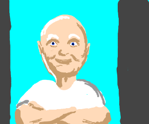 Mr. Clean comes for a visit