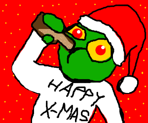 Maddin Wishes Us A Drunken Happy Christmas Drawception