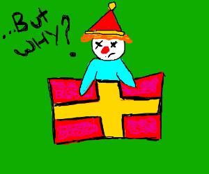 box this clown