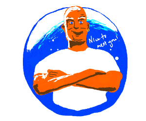 Mr. Clean® is pleased to see you.