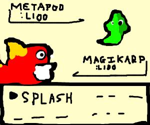 Ultimate Battle Between Metapod and Magikarp