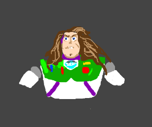 Buzz Lightyear in L'Oreal Ad