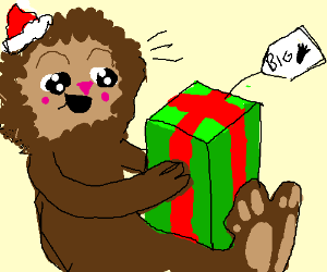 Merry Christmas, Bigfoot!