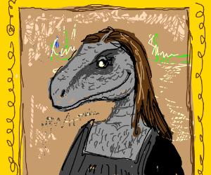 Mona Lisa velociraptor