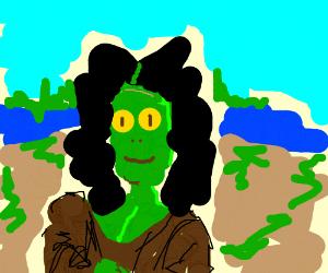 Mona Lisaurus.