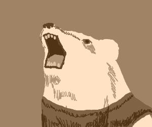 Realistic Pooh bear.
