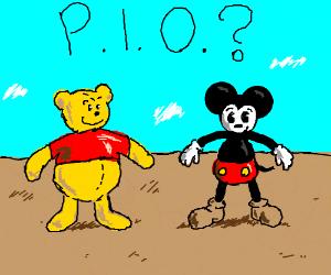 Disney characters. PIO?