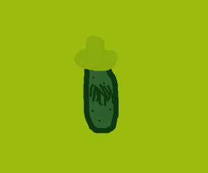 mexican hairy pickle