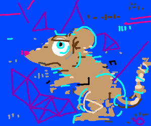 Glitchy mouse