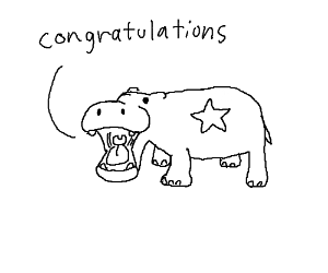 Hippo congratulates you!