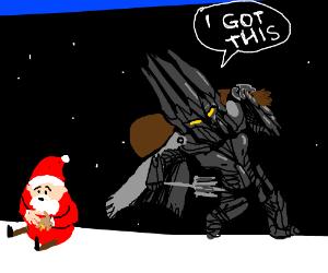 Sauron Saves Christmas