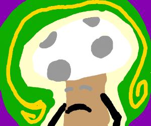 Sad mushroom guy